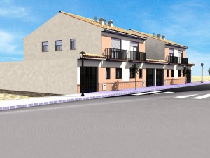 Promocion de viviendas en Avenida de Europa de Montijo