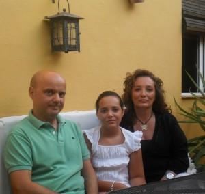 Familia Dani, Isa y Carla